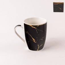 UG000181/чёрная Кружка 355мл. Black Gold в под. упак.