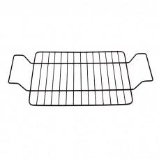 6001М Форма для запекания 37.5*26*5,5см из углеродистой стали с решеткой для гриля