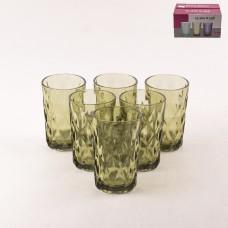 923-90-С Набор стаканов 6шт. Зеленый Зеленый