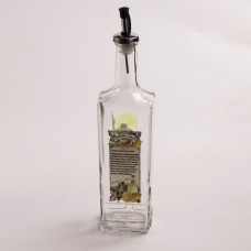 626-404 Бутылка с мет.дозатором для масла 500мл.