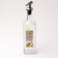 626-412 Бутылка с пластик.дозатором для масла 500мл.