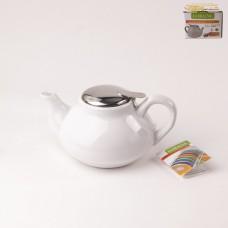26594-2 Чайник заварочный 750мл. Белый