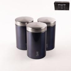 6271-ВН Набор банок для хранения 3пр. Aguamarine Edition