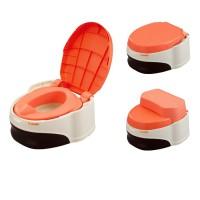 Подставка-сиденье для унитаза, ведро-туалет