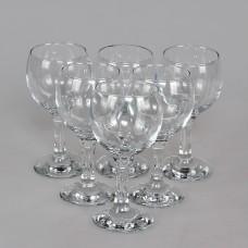 PSB 44412 Набор бокалов для вина 220 мл. 6 шт. (44412B) Бистро Прозрачный