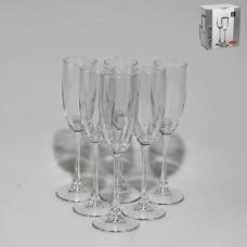 PSB 44688 Набор бокалов для шампанского 170 мл. 6 шт. (44688) ENOTECA Прозрачный