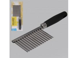 Г/884-068 Нож-слайсер для фигурной нарезки, пластик, нерж.сталь, 19*6 см
