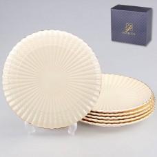 IM52-4010 Набор обеденных тарелок 6 шт 26см Грейс Голд