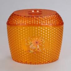 М5596 Ёмкость дсыпучих продуктов Мозаика 3л (оранж.) Мозаика Оранжевый