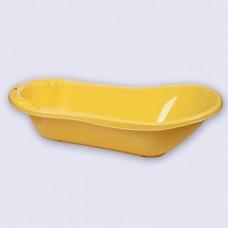 4313004 Ванна детская с клапаном для слива воды и аппликацией (желтый) Желтый