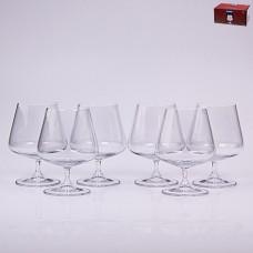 02B2G003560 Набор бокалов для бренди 6 шт. 560 мл. GOURMET Прозрачный