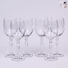 02B4G005200 Набор бокалов для вина 200 мл. 6 шт. LUCILLE Прозрачный