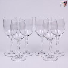 02B4G005250 Набор бокалов для вина 250 мл. 6 шт. LUCILLE Прозрачный
