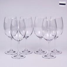 02B4G006340 Набор бокалов для вина 6 шт. 340 мл. Leona Прозрачный