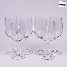 02B4G006430 Набор бокалов для вина 6 шт. 430 мл. Leona Прозрачный