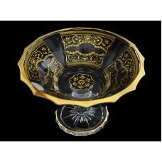 7026/701/L/18 Конфетница на ножке 18 см. Floras Empire Gold