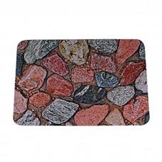IM99-5028/камушки красн Коврик придверный 40*60 см