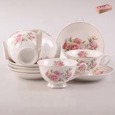 ТА26-0026 Набор чайный 12пр. Пион