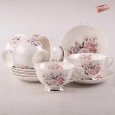 ТА26-0027 Набор чайный 12пр. Нежный букет