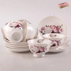 ТА26-0028 Набор чайный 12пр. Букет из роз