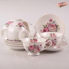 ТА26-0029 Набор чайный 12пр. Нежность букета