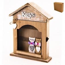ТА47-0001 Ключница Кошки