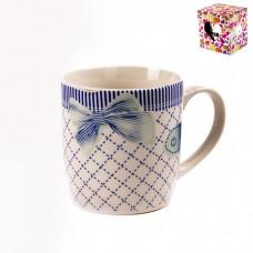 ТА01-0079/голубая Кружка Бантик