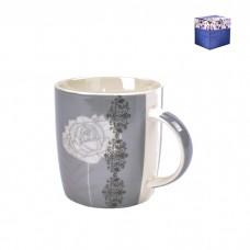 ТА01-0073/2 Кружка Серая роза
