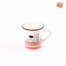 ТА01-0125/розовая Кружка Фауна