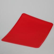 891-045 Подставка силиконовая термостойкая 38*28*0,1 оранжевый, белый