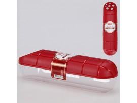 4312855 Контейнер для колбасы 251*67*68 мм (красный)