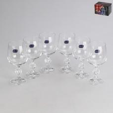 40149/230 Набор бокалов для вина 230 мл. 6 шт. Клаудия Прозрачный