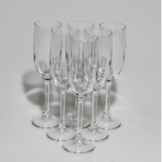 PSB 44819 Набор бокалов для шампанского 155 мл. 6 шт. (44819В) IMPERIAL PLUS Прозрачный